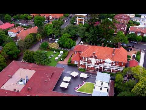 ACU Campus North Sydney Drone Video