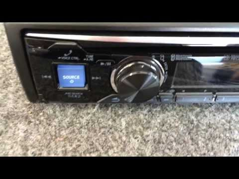 Alpine CDE-143BT Advanced Bluetooth CD Receiver