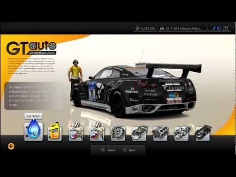 GT5 – Nissan GT-R N24 Schulze Motor Sports '11 Gameplay