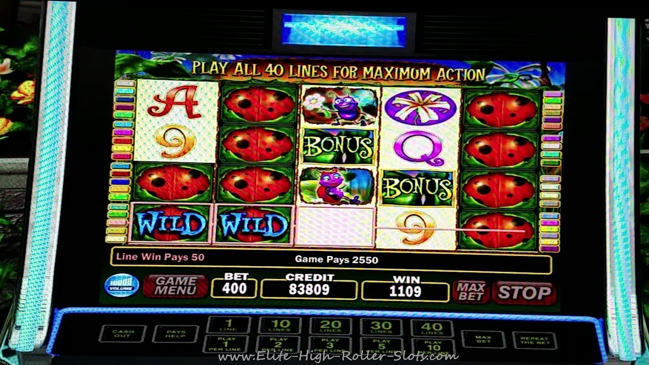 Lady Bug Slot Machine