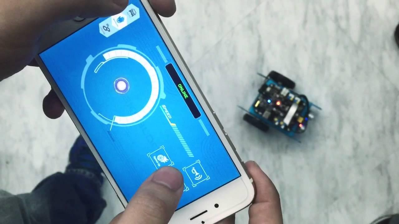 mBot app functional demo