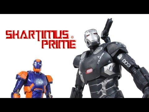 Marvel Legends Target War Machine Mark 3 and Disco Iron Man Civil War Movie 2 Pack Figure Review