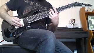 Type O Negative - The Profit of Doom. 8 String Guitar Cover