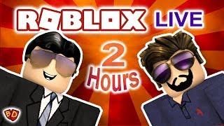 🔴 Ben et papa jouent Roblox Live! 2 heures (ish) Live Stream