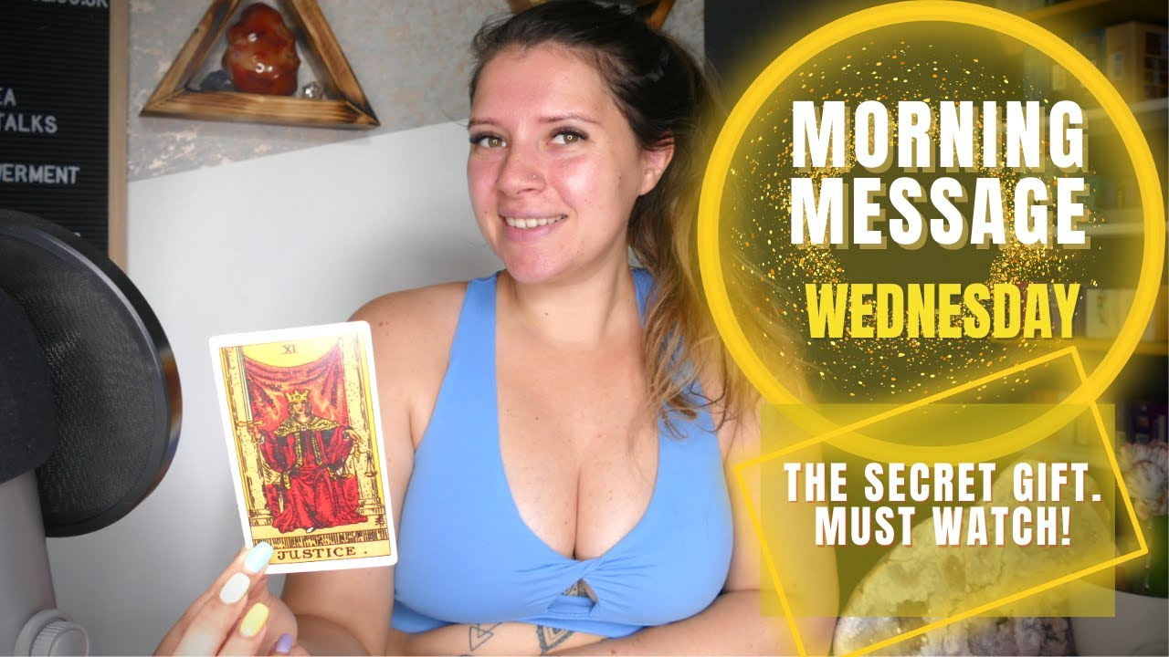 Download Morning Tarot Message - The secret gift. Must watch! 💝  - Daily Reading Wednesday