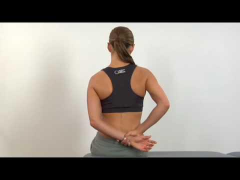 11.3 Shoulder Internal Rotation Stretch - YouTube