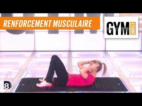 Cours gym : rent musculaire 8 : Taille dos & fessiers