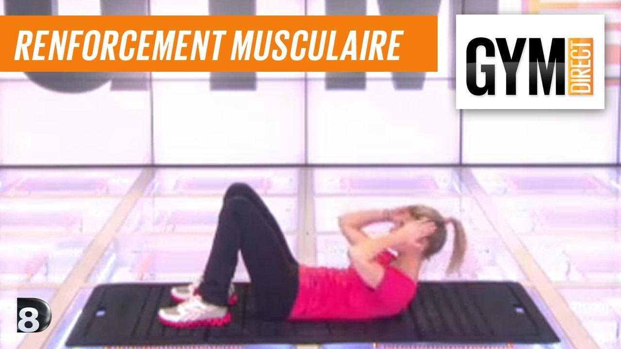 Cours gym   renfort musculaire 8   Taille abdos   fessiers - YouTube 0e25f0d0cbe