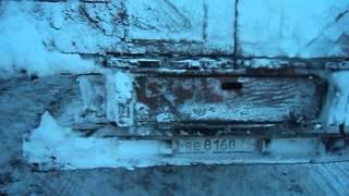 Челябинская фура американец international г. Миасс пала в снежном плену в Оренбуржье