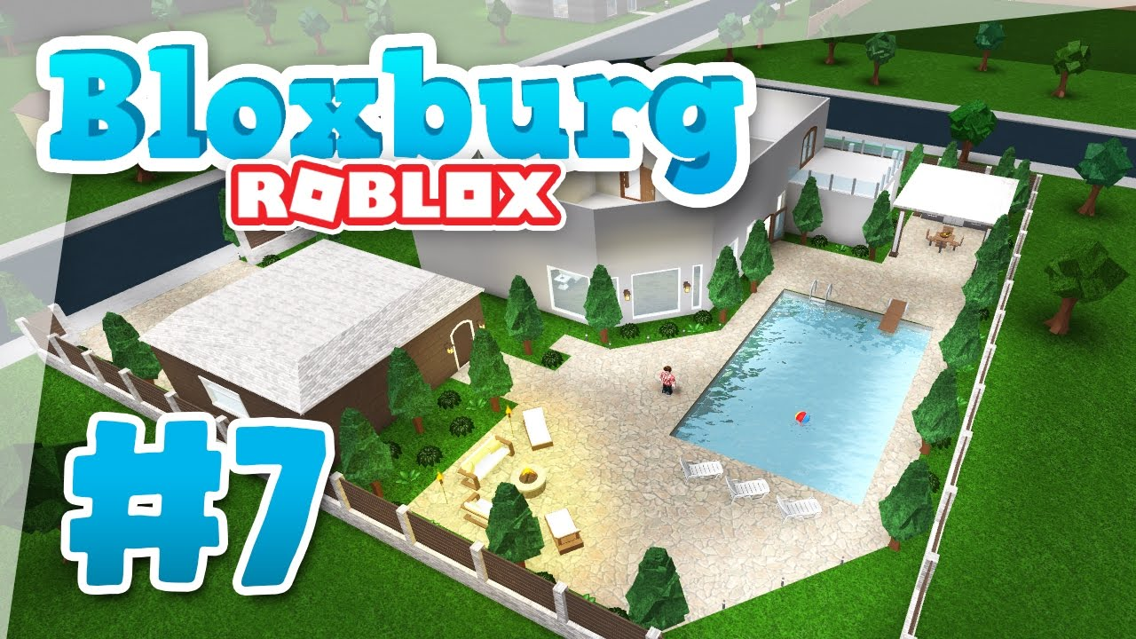 Bloxburg 7 Swimming Pool Roblox Welcome To Bloxburg Youtube