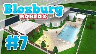 Bloxburg #7 - SWIMMING POOL (Roblox Welcome to Bloxburg)
