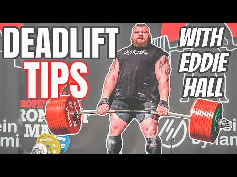 INCREASE YOUR DEADLIFT BY UP TO 20% WITH THESE 3 TIPS | Ft Eddie Hall | 500KG WR holder