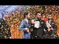 علي ليو يحتفل بحصوله على لقب محبوب العراق بأغنية عيد وحب هاي الليلة 🎶 #iraqidol #الف_مبروك