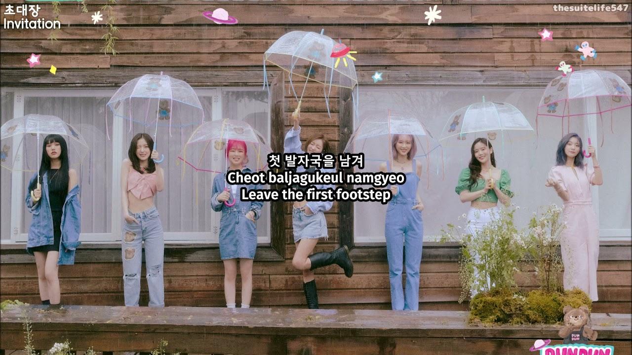 Oh My Girl - 초대장 [Invitation] (Hangul, Romanization, Eng Sub)