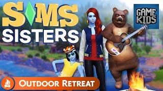 Let's Go Camping! - Sims Sisters Outdoor Retreat