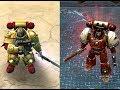 Dawn Of War (2004) Vs Dawn Of War 2 Space Marine Visual Comparison