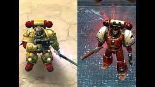 Dawn Of War (2004) Vs Dawn Of War 2 Space Marine Visual Comparison