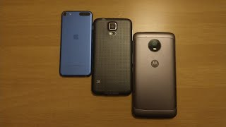 S5, Moto e4+, iPod 6th gen and more found in Target Bin!
