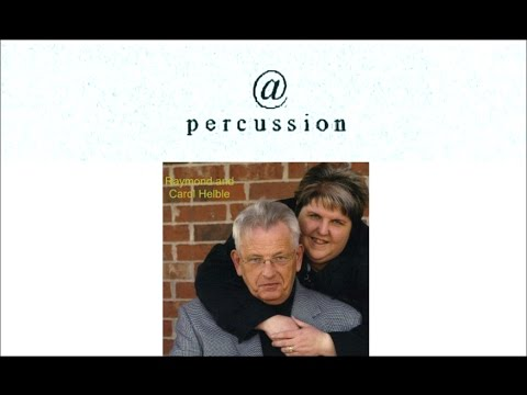 Raymond & Carol Helble   @ Percussion episode 93