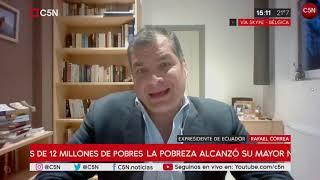 """Rafael Correa en C5N: """"Volverá el progresismo por la justicia y la equidad"""""""