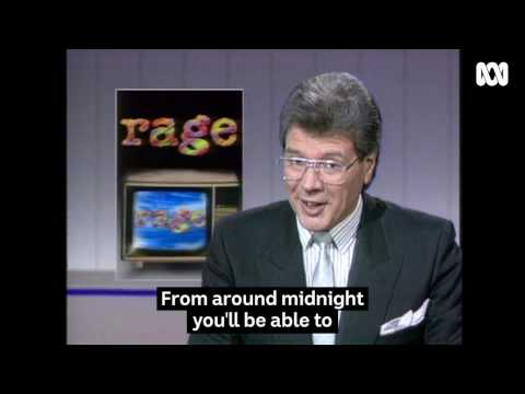 When Rage First Arrived - ABC TV Archival Footage