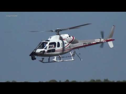 Giro d'Italia Helicopters For T.V Broadcasting Teuge Airport 2016