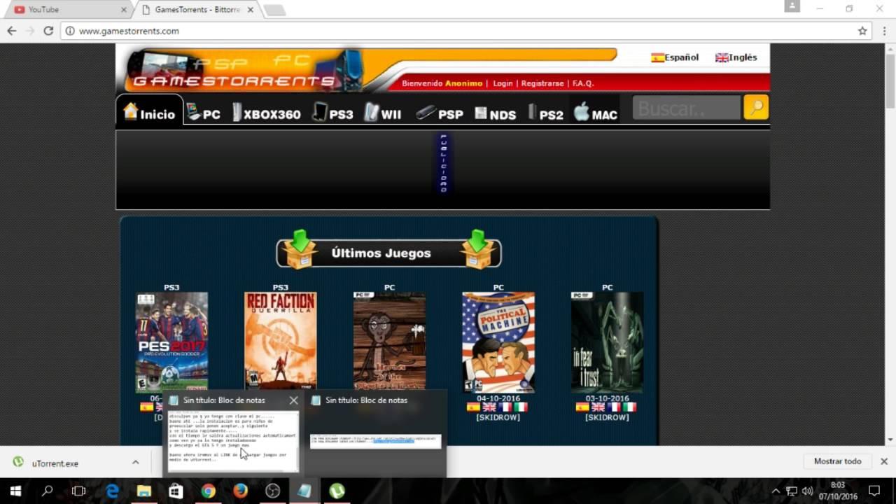 descargar juegos para ps3 gratis completos utorrent