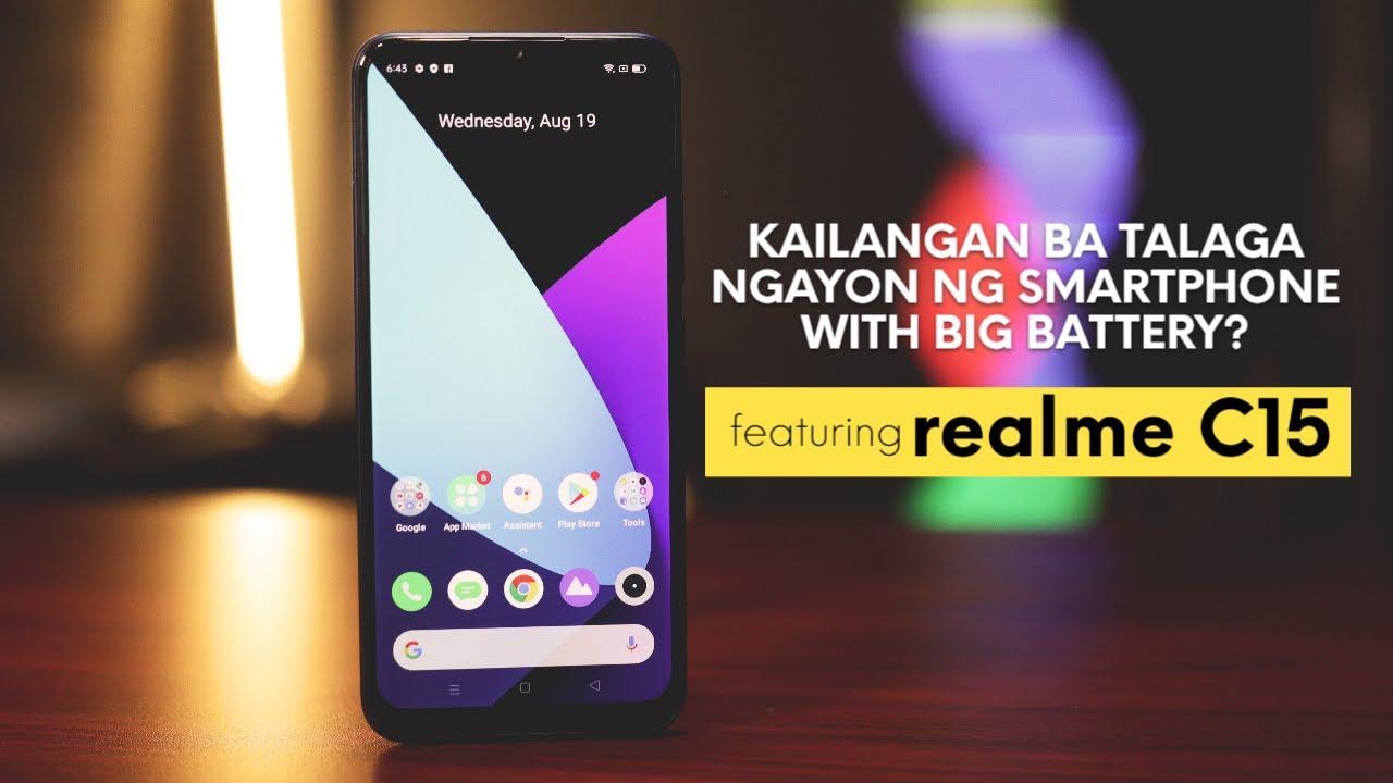 Download Big battery sa smartphone? Kailangan ba talaga? -- Feat. realme C15