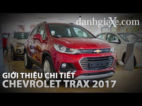 [danhgiaXe.com] Giới thiệu chi tiết Chevrolet Trax 2017 hoàn toàn mới nhất