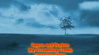 screaming trees - sworn and broken karaoke cover w/backing vocals
