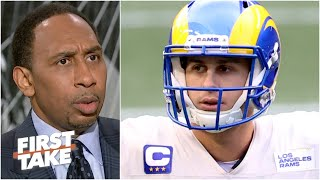 'Jared Goff ain't leading you to no Super Bowl!' - Stephen A. is skeptical of the Rams | First Take