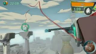de Blob Nintendo Wii Gameplay - Wall Jumping (480p)