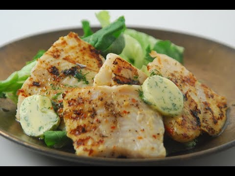 Grilled Fish With Coriander Butter | Cooksmart | Sanjeev Kapoor Khazana