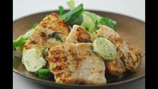 Grilled Fish With Coriander Butter  Cooksmart  Sanjeev Kapoor Khazana