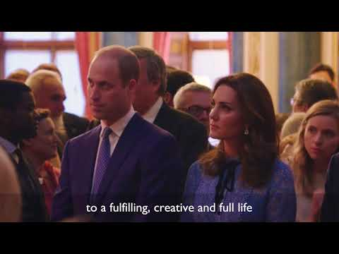 The Duke & Duchess of Cambridge & Prince Harry host a national celebration of mental health