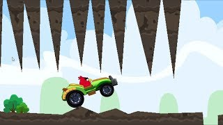 Angry Birds Cross Country - LIGHTNING SPEED CAR RACING SKILL GAME!
