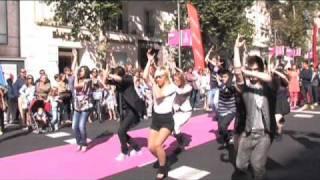 Flashmob:Reebok Sports Club en la inauguración de la Calle Serrano