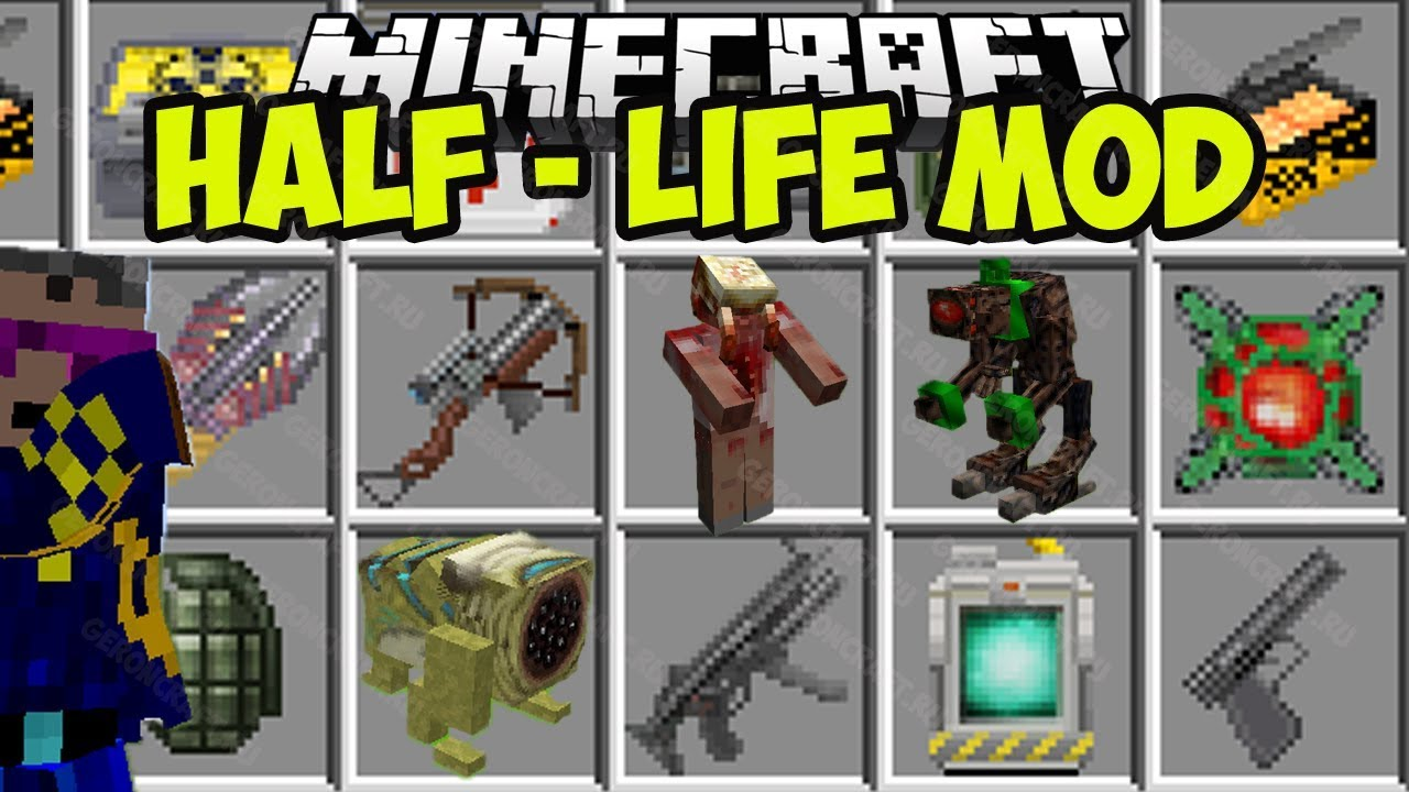 minecraft half life mod