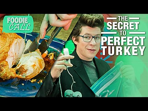 The Juiciest Turkey, Ever: Foodie Call with Justin Warner