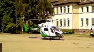Polizei Hubschrauber start