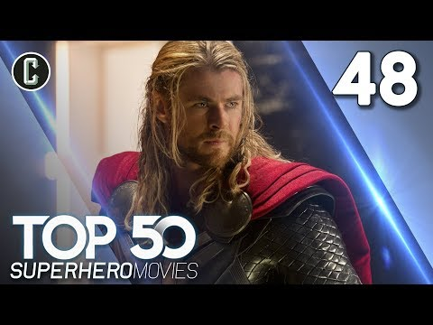 Top 50 Superhero Movies: Thor: The Dark World - #48