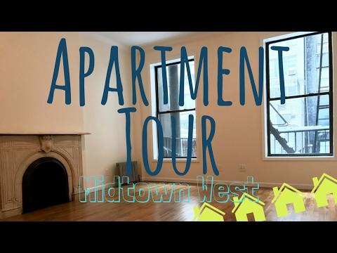 NYC APARTMENT TOUR | Midtown West Studio