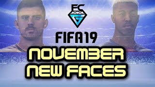 FIFA 19: NOVEMBER UPDATE PATCH (50 NEW FACE SCANS)