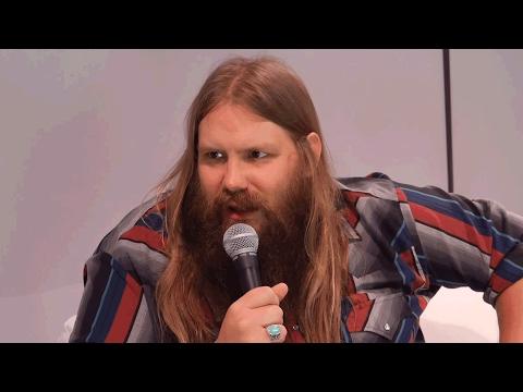 Chris Stapleton CMA Awards Radio Remote Interview | CMA Awards 2015 | CMA