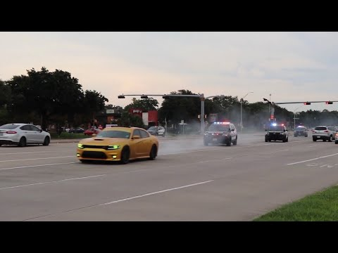 DODGE CHARGER 392 OUTRUNS HOUSTON POLICE OFFICERS IN HIGH SPEED CHASE! *08/02/20*