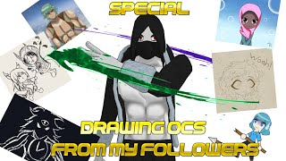 Unexpected livestream! Drawing my followers OCs