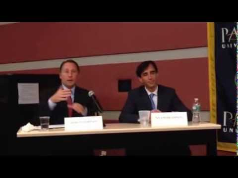 CONT: Rob Astorino and Noam Bramson debate for the last time before Election Day.