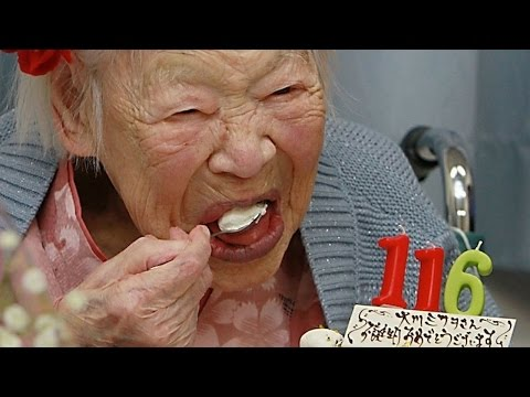 World's OLDEST LIVING PERSON! 116 years old and counting!