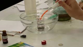 Урок Химии (Лабораторная работа, эксперемент)