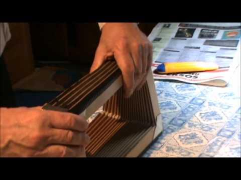 Diatonic accordion: bellows taping